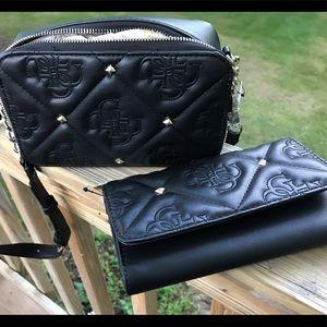 NWT Guess Jeana Mini Crossbody Bag & Wallet